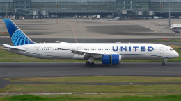 tkosadaさんが、羽田空港で撮影したユナイテッド航空 787-9の航空フォト(飛行機 写真・画像)