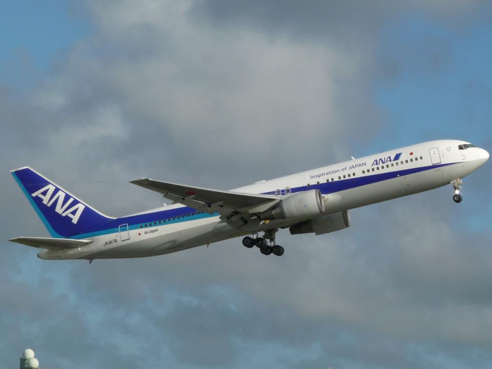 ノリださんの全日空 Boeing 767-300 (JA617A) 航空フォト