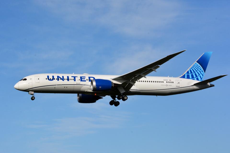 アルビレオさんのユナイテッド航空 Boeing 787-9 (N28987) 航空フォト