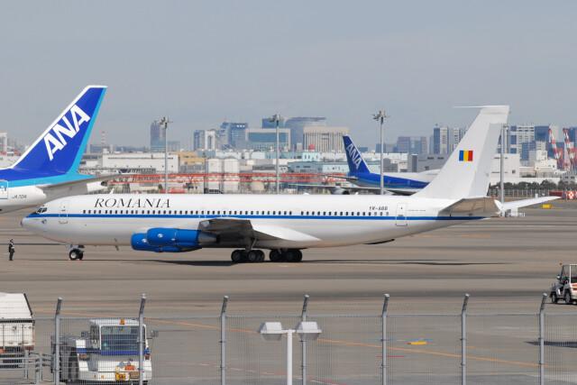 banshee02さんが、羽田空港で撮影したロマビア航空 707-3K1Cの航空フォト(飛行機 写真・画像)