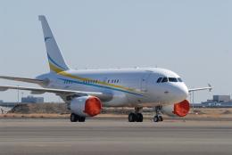 banshee02さんが、羽田空港で撮影したコムラックス・マルタ A318-112 CJ Eliteの航空フォト(飛行機 写真・画像)