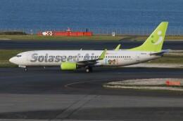 ソラシド エア Boeing 737-800 (JA807X)  航空フォト | by 青春の1ページさん  撮影2021年05月03日%s