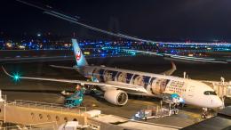 うみBOSEさんが、新千歳空港で撮影した日本航空 A350-941の航空フォト(飛行機 写真・画像)