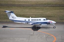 kumagorouさんが、仙台空港で撮影した中日本航空 B200 Super King Airの航空フォト(飛行機 写真・画像)