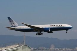 NIKEさんが、関西国際空港で撮影したユナイテッド航空 777-222/ERの航空フォト(飛行機 写真・画像)