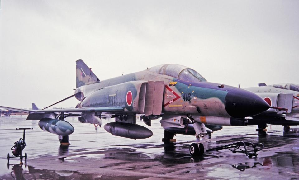 チャーリーマイクさんの航空自衛隊 Mitsubishi RF-4EJ Phantom II (97-6418) 航空フォト