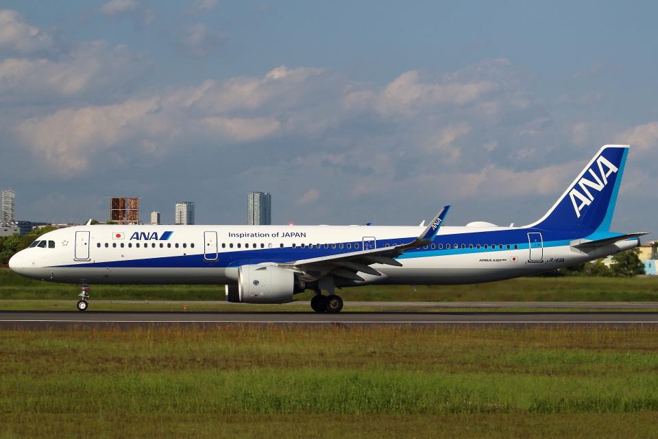 セブンさんの全日空 Airbus A321neo (JA149A) 航空フォト