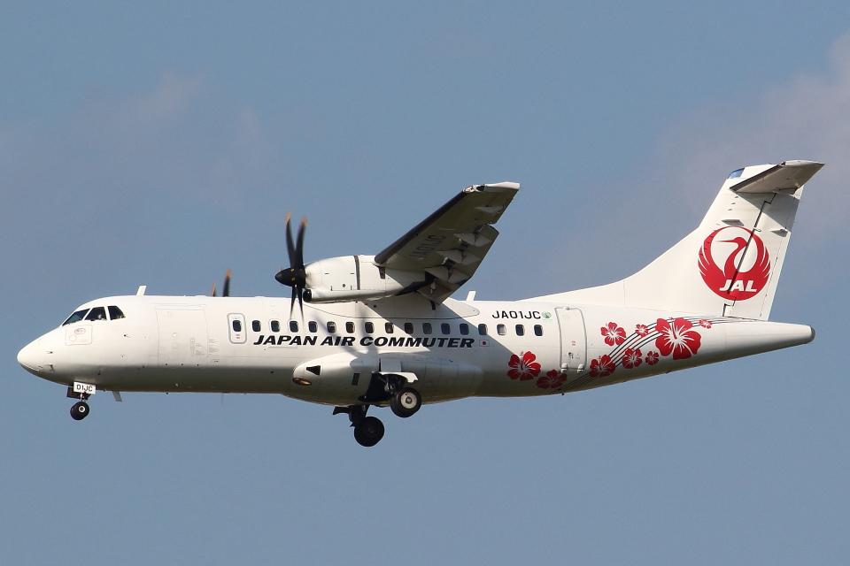 セブンさんの日本エアコミューター ATR 42 (JA01JC) 航空フォト