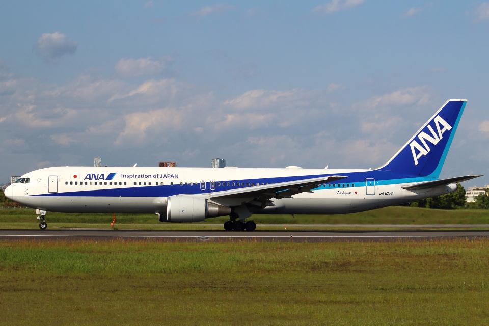 セブンさんの全日空 Boeing 767-300 (JA617A) 航空フォト