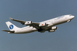 banshee02さんが、成田国際空港で撮影したサベナ・ベルギー航空 A340-211の航空フォト(飛行機 写真・画像)