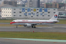 tsubameさんが、福岡空港で撮影した中国東方航空 A320-214の航空フォト(飛行機 写真・画像)