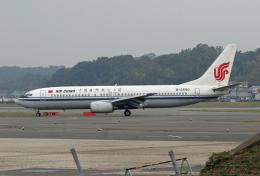 tsubameさんが、福岡空港で撮影した中国国際航空 737-86Nの航空フォト(飛行機 写真・画像)
