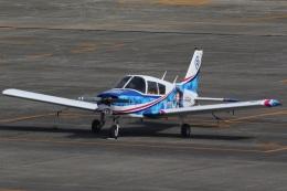 camelliaさんが、名古屋飛行場で撮影した日本個人所有 PA-28-140 Cherokeeの航空フォト(飛行機 写真・画像)