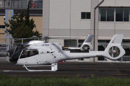 KAZFLYERさんが、東京ヘリポートで撮影した日本個人所有 EC130T2の航空フォト(飛行機 写真・画像)