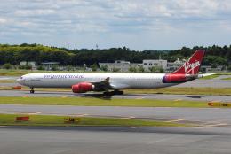 LEGACY-747さんが、成田国際空港で撮影したヴァージン・アトランティック航空 A340-642の航空フォト(飛行機 写真・画像)