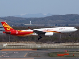 FT51ANさんが、新千歳空港で撮影した香港航空 A330-343Xの航空フォト(飛行機 写真・画像)