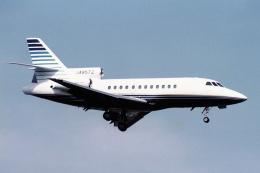 banshee02さんが、厚木飛行場で撮影したソニートレーディングインターナショナル Falcon 900Bの航空フォト(飛行機 写真・画像)