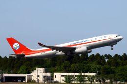 hiroki_h2さんが、成田国際空港で撮影した四川航空 A330-243Fの航空フォト(飛行機 写真・画像)