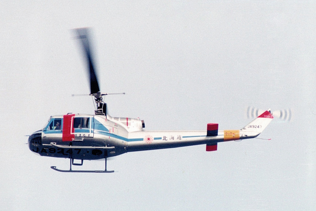banshee02さんが、宇都宮飛行場で撮影した北海道警察 204B-2(FujiBell)の航空フォト(飛行機 写真・画像)