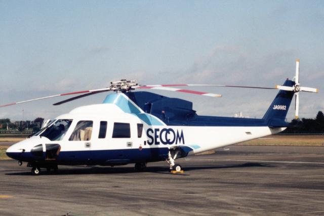 banshee02さんが、立川飛行場で撮影したセコム S-76Aの航空フォト(飛行機 写真・画像)