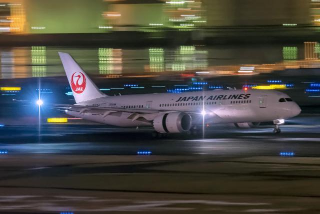 Cozy Gotoさんが、羽田空港で撮影した日本航空 787-8 Dreamlinerの航空フォト(飛行機 写真・画像)