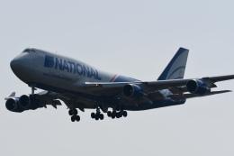 panchiさんが、成田国際空港で撮影したナショナル・エアラインズ 747-428(BCF)の航空フォト(飛行機 写真・画像)