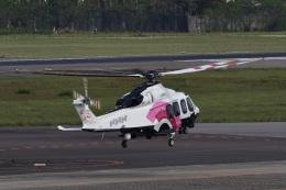 camelliaさんが、名古屋飛行場で撮影した日本法人所有 AW139の航空フォト(飛行機 写真・画像)