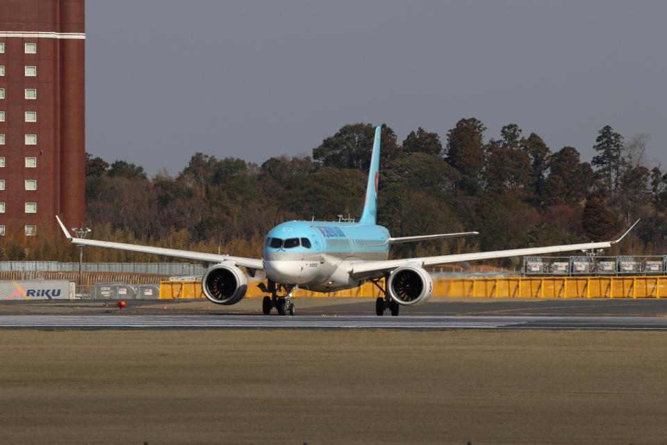 磐城さんの大韓航空 Airbus A220-300 (HL8315) 航空フォト