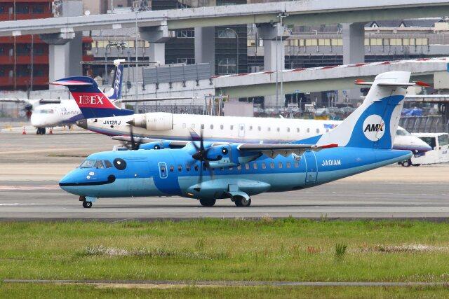 航空フォト:JA01AM 天草エアライン ATR 42