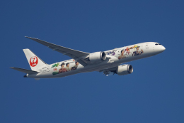 shootingstarさんが、羽田空港で撮影した日本航空 787-9の航空フォト(飛行機 写真・画像)