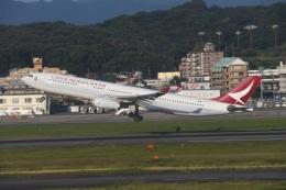 Tarochanさんが、福岡空港で撮影したキャセイドラゴン A330-343Xの航空フォト(飛行機 写真・画像)