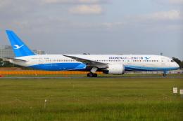 こだしさんが、成田国際空港で撮影した厦門航空 787-9の航空フォト(飛行機 写真・画像)
