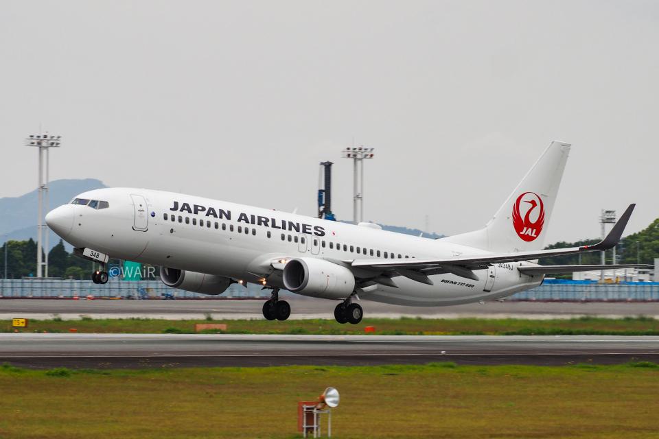 WAiRさんの日本航空 Boeing 737-800 (JA348J) 航空フォト