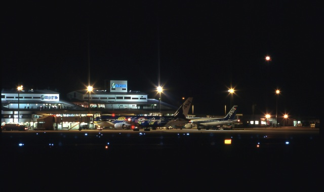 LEVEL789さんが、岡山空港で撮影した全日空 767-381の航空フォト(飛行機 写真・画像)