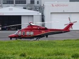 FT51ANさんが、東京ヘリポートで撮影した日本法人所有 AW139の航空フォト(飛行機 写真・画像)