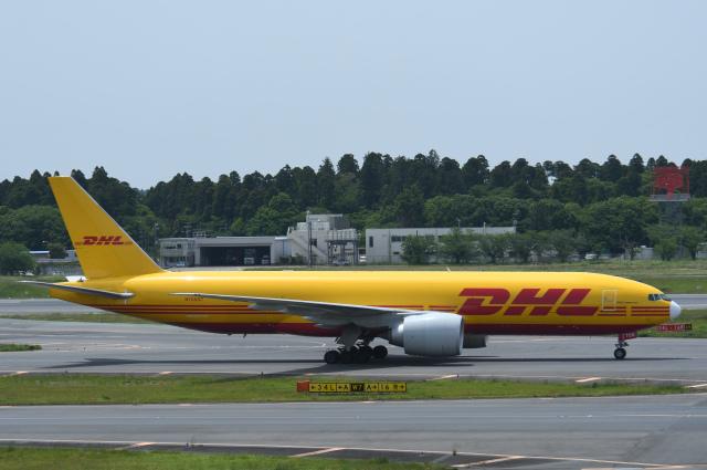 チャーリーマイクさんが、成田国際空港で撮影したDHL 777-Fの航空フォト(飛行機 写真・画像)
