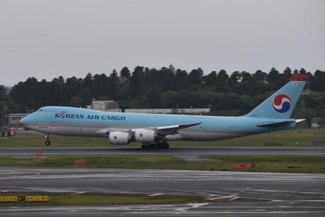 PIRORINGさんが、成田国際空港で撮影した大韓航空 747-8B5F/SCDの航空フォト(飛行機 写真・画像)
