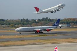 tsubameさんが、成田国際空港で撮影したスカンジナビア航空 A340-313Xの航空フォト(飛行機 写真・画像)