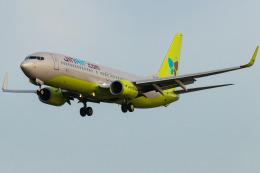 Yukio a.k.a Yu Worksさんが、福岡空港で撮影したジンエアー 737-8Q8の航空フォト(飛行機 写真・画像)