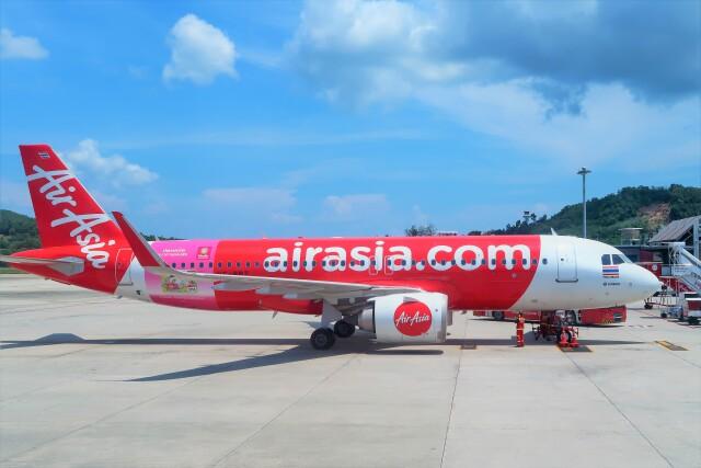 2019年10月05日に撮影されたタイ・エアアジアの航空機写真
