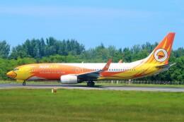 Hiro Satoさんが、プーケット国際空港で撮影したノックエア 737-88Lの航空フォト(飛行機 写真・画像)