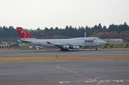 tsubameさんが、成田国際空港で撮影したノースウエスト航空 747-451の航空フォト(飛行機 写真・画像)