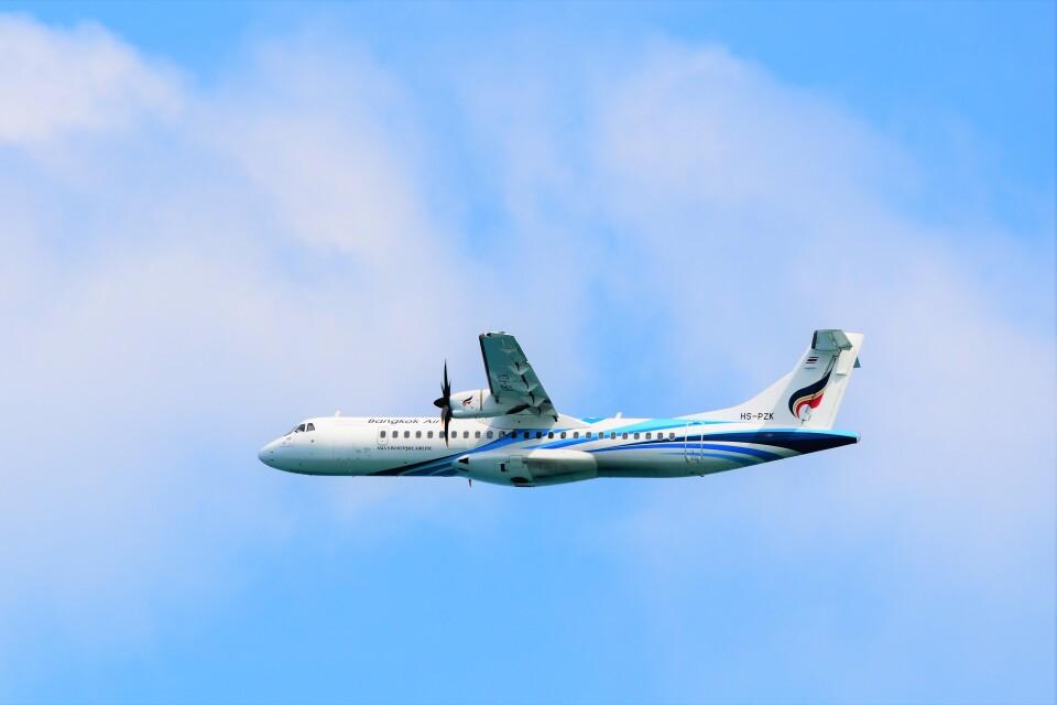 Hiro Satoさんのバンコクエアウェイズ ATR 72 (HS-PZK) 航空フォト
