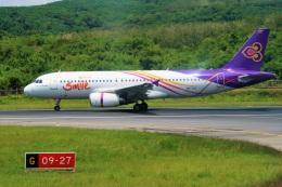 Hiro Satoさんが、プーケット国際空港で撮影したタイ・スマイル A320-232の航空フォト(飛行機 写真・画像)