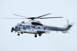 M.Tさんが、関西国際空港で撮影した海上保安庁 EC225LP Super Puma Mk2+の航空フォト(飛行機 写真・画像)