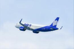 Hiro Satoさんが、プーケット国際空港で撮影したゴーエア A320-271Nの航空フォト(飛行機 写真・画像)
