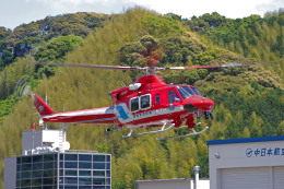 apphgさんが、静岡ヘリポートで撮影した静岡市消防航空隊 412EPの航空フォト(飛行機 写真・画像)