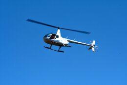 まいけるさんが、ファンボロー空港で撮影したイギリス企業所有 R44 Raven IIの航空フォト(飛行機 写真・画像)