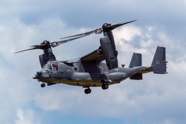 ファントム無礼さんが、横田基地で撮影したアメリカ空軍 CV-22Bの航空フォト(飛行機 写真・画像)