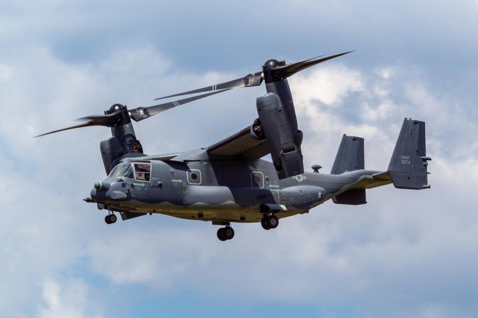 ファントム無礼さんのアメリカ空軍 Bell Boeing V-22 Osprey (14-0074) 航空フォト